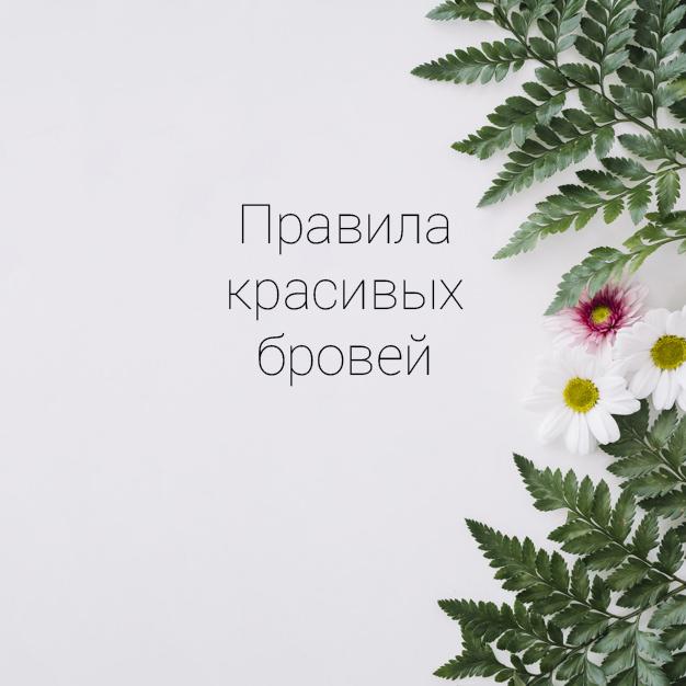 Правила красивых бровей. Купить хну для бровей в Минске