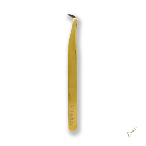 купить пинцет для наращивания ресниц-vilashes-№12